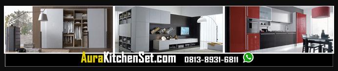 banner aura kitchen set
