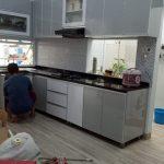 kitchen set minimalis bekasi selatan - Pembuatan Kitchen Set Depok
