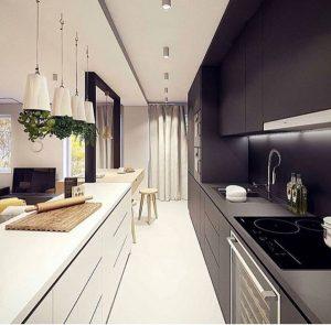 Kitchen Set Berbentuk Paralel - Jasa Pembuatan Kitchen Set Jakarta Timur